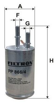 фильтр топлива filtron pp8664