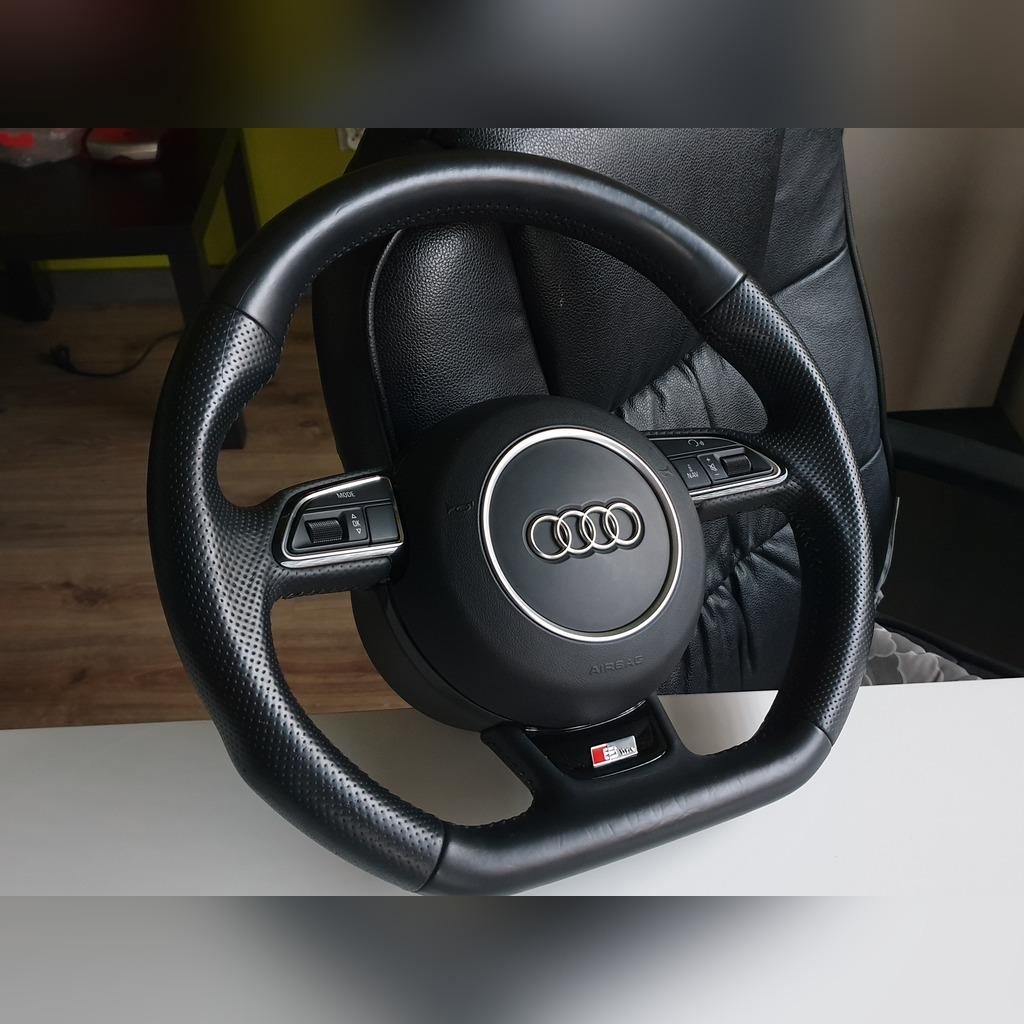 Kierownica ścięta Audi A4 B8 S Line Lift A4 B6 B7 Kup Teraz Za 2100 00 Zł Dąbrowa Górnicza Allegro Lokalnie