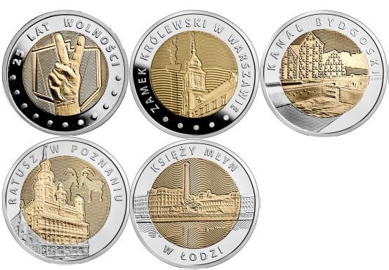 Zestaw monet 5 zł - stan menniczy - super okazja
