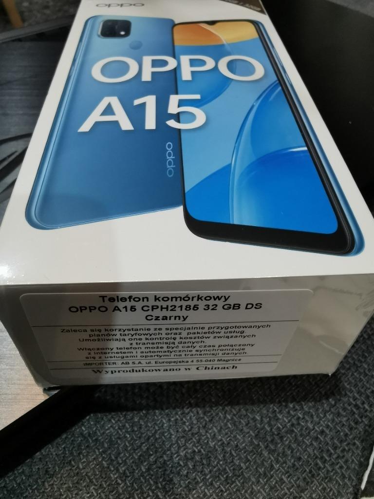 Купить Oppo A15 NOWY FOLIA 24 MSC на Otpravka - цены и фото - доставка из Польши и стран Европы в Украину.