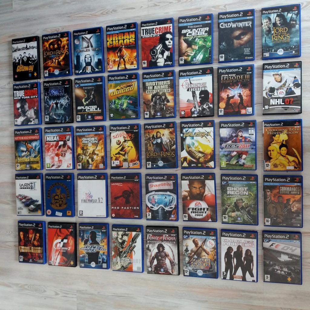 Mega Kolekcja Gier Playstation 2 Ps2 Plyty Bez Rys Kup Teraz Za 249 00 Zl Szerzyny Allegro Lokalnie