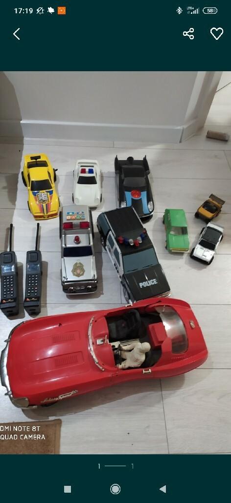 Stare zabawki