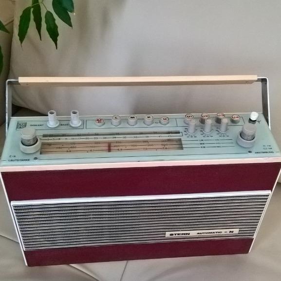 zabytkowe radio RFT STERN AUTOMATIC - N