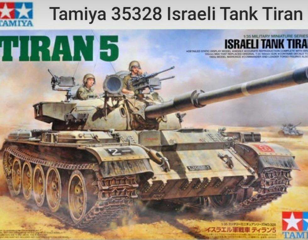 Tamiya Tiran izraelski wariant T55.