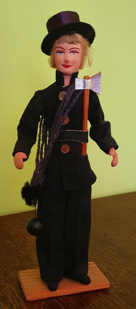 Cepelia PRL lalka strój ludowy region Śląsk