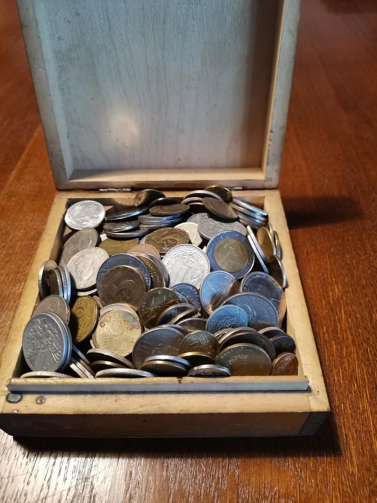Zestaw monet ponad 270szt
