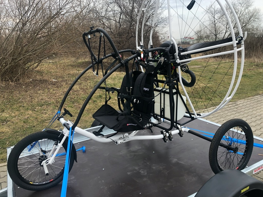 Трехколесный велосипед PPG PPGG airone.pro vittorazi Moster