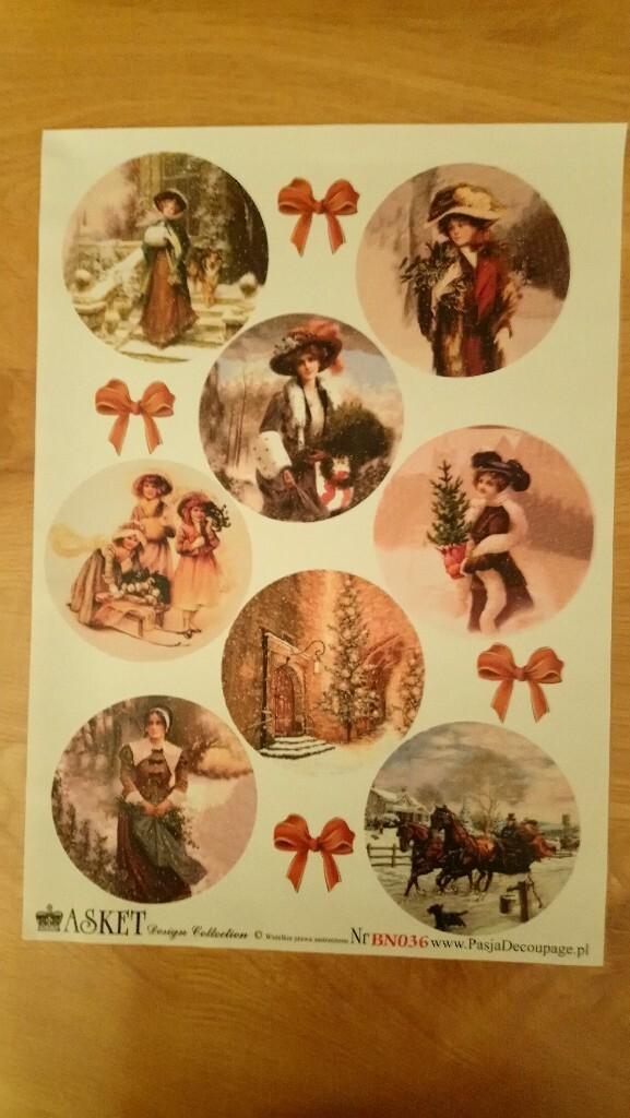 Papiery Vintage decoupage pakiet 10 szt + gratisy