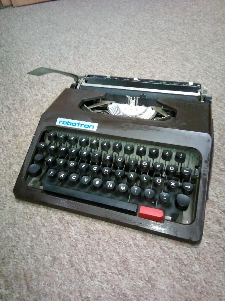 Nowa niemiecka maszyna do pisania