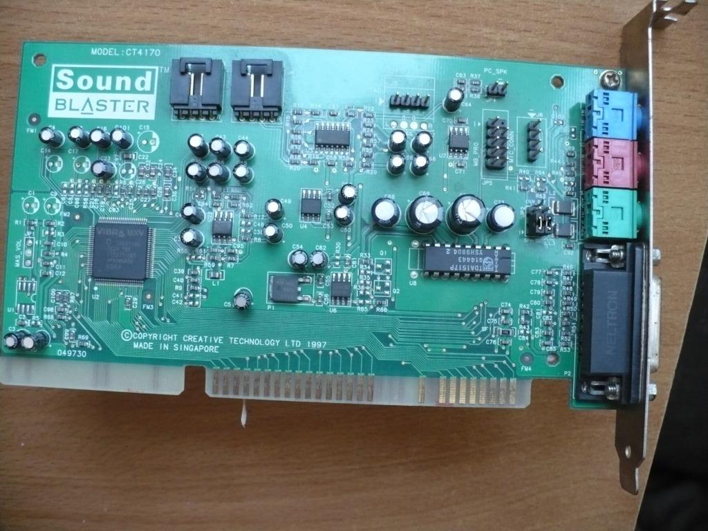 Купить Музыкальная карта Creative Sound Blaster CT 4170 на Otpravka - цены и фото - доставка из Польши и стран Европы в Украину.