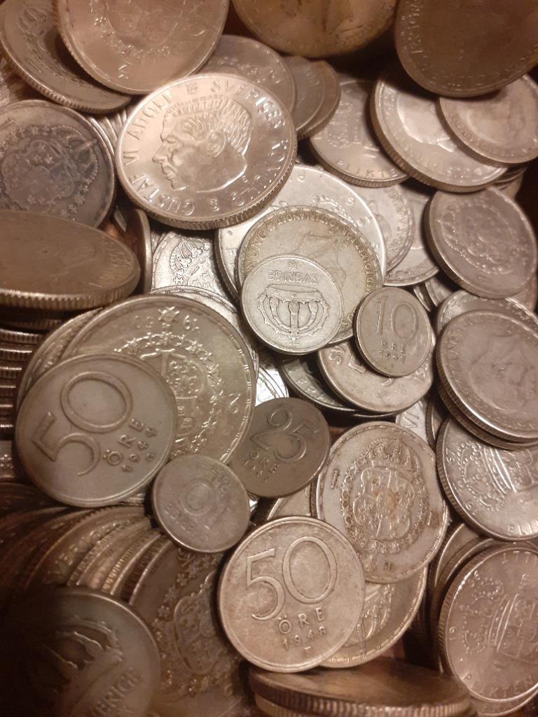 Zestaw monet srebrnych 1 kg kilogram srebro 1000Ag