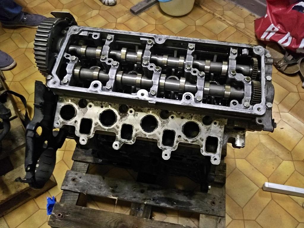 двигатель голый столбик 16 tdi cayb vw skoda seat audi
