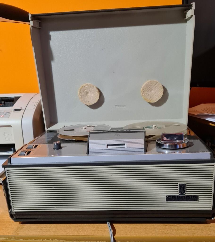 Катушечный кассетный магнитофон ZK120