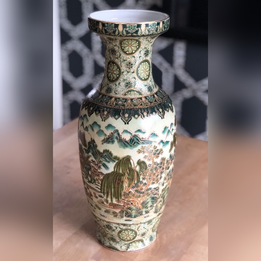 Porcelanowa waza z Chin - stara