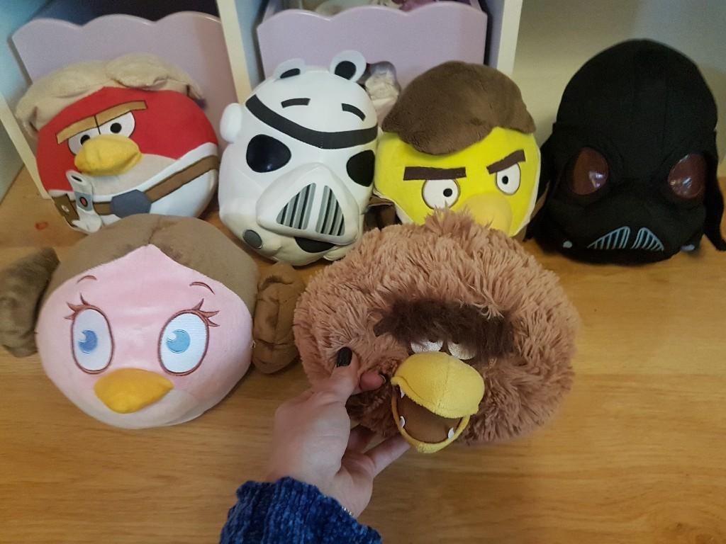 Angry Birds Star Wars Pluszaki Dla Fana Na Mikolaj Kup Teraz Za 50 00 Zl Milowka Allegro Lokalnie