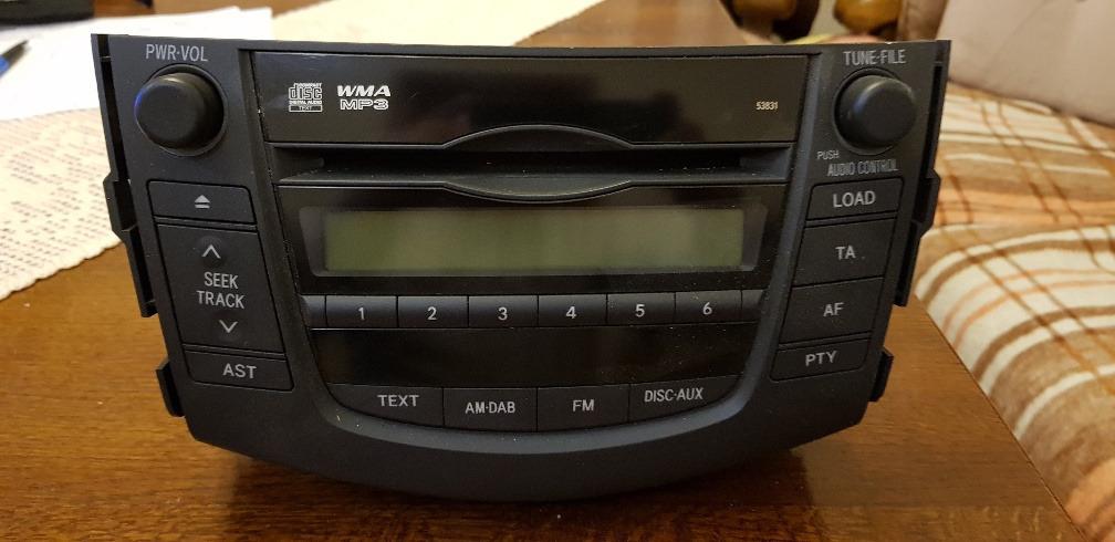радио toyota rav4 2008-10