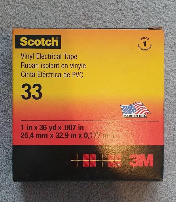 Набор из 6 лента Scotch 33 + 7 пар перчаток Hubix