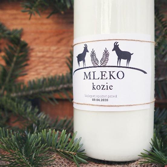 Naturalne KOZIE mleko 1000 ml | możliwa wysyłka!