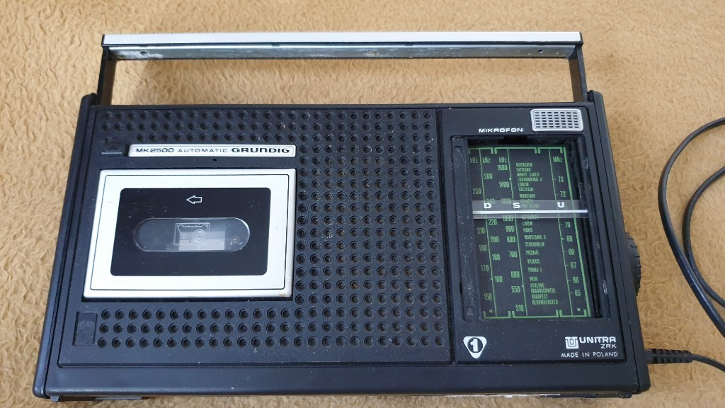 Radiomagnetofon Unitra Grundig Automat MK2500 spra