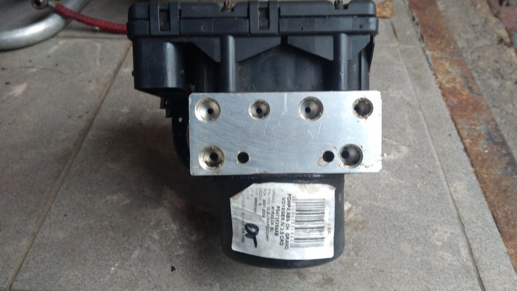 насос abs voyager 2 5crd lift 20042005