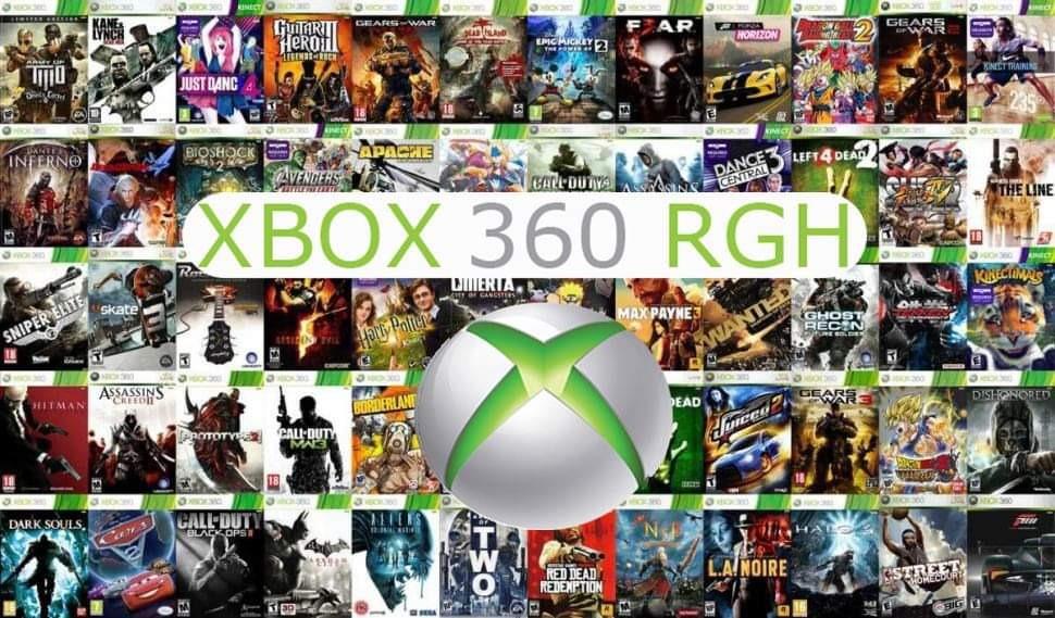 Komplet Gier Xbox 360 Rgh Hdd 500gb 80 Gier Rgh Kup Teraz Za 180 00 Zl Rejowiec Allegro Lokalnie