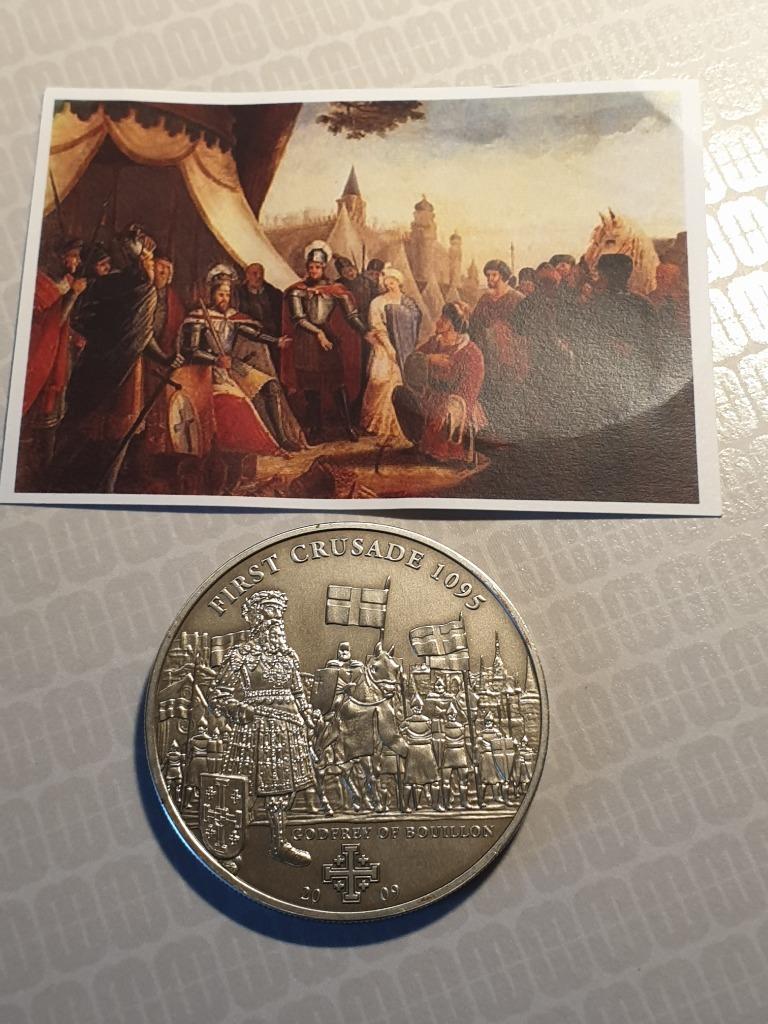 Cook Islands 5$ 2009r pierw moneta z serii histori
