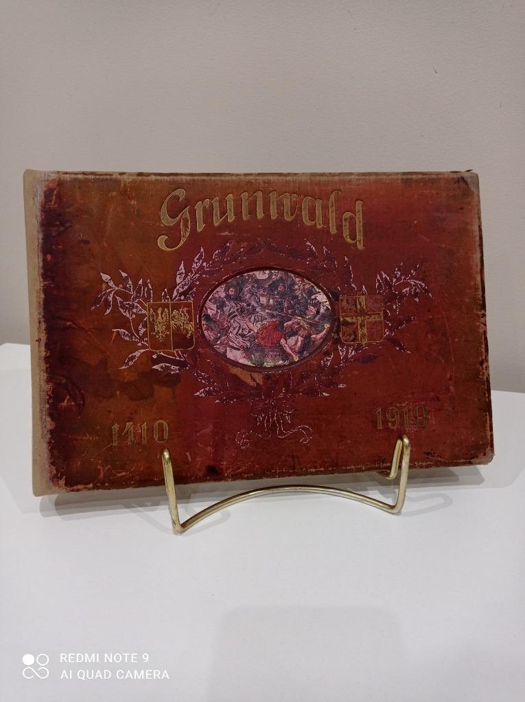 Довоенный книжный альбом Грюнвальд 1910 г.