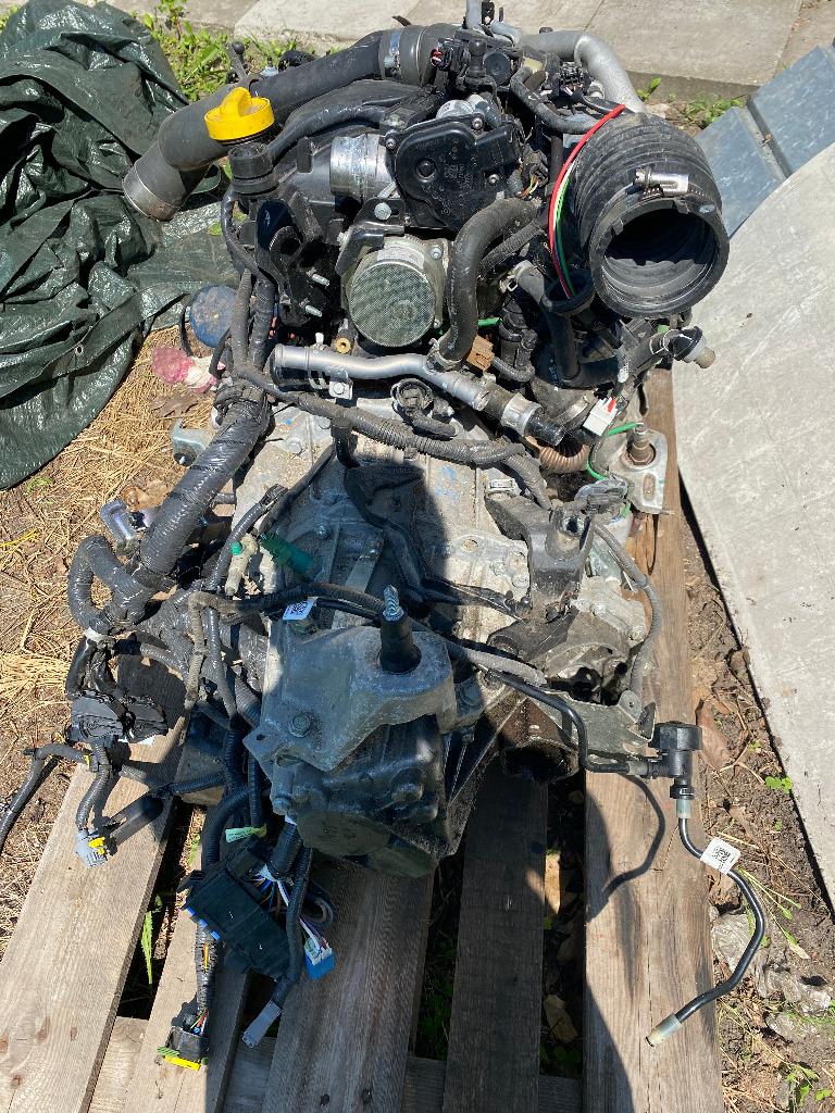 Двигатель k9kf64+ коробка renault nissan 1.5 dci 17r, фото 1
