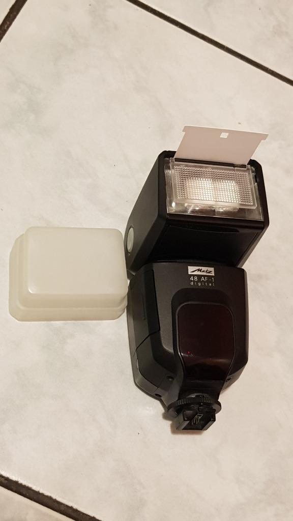 Lampa Metz 48 af-1 jak nowa! stopka Sony / Minolta