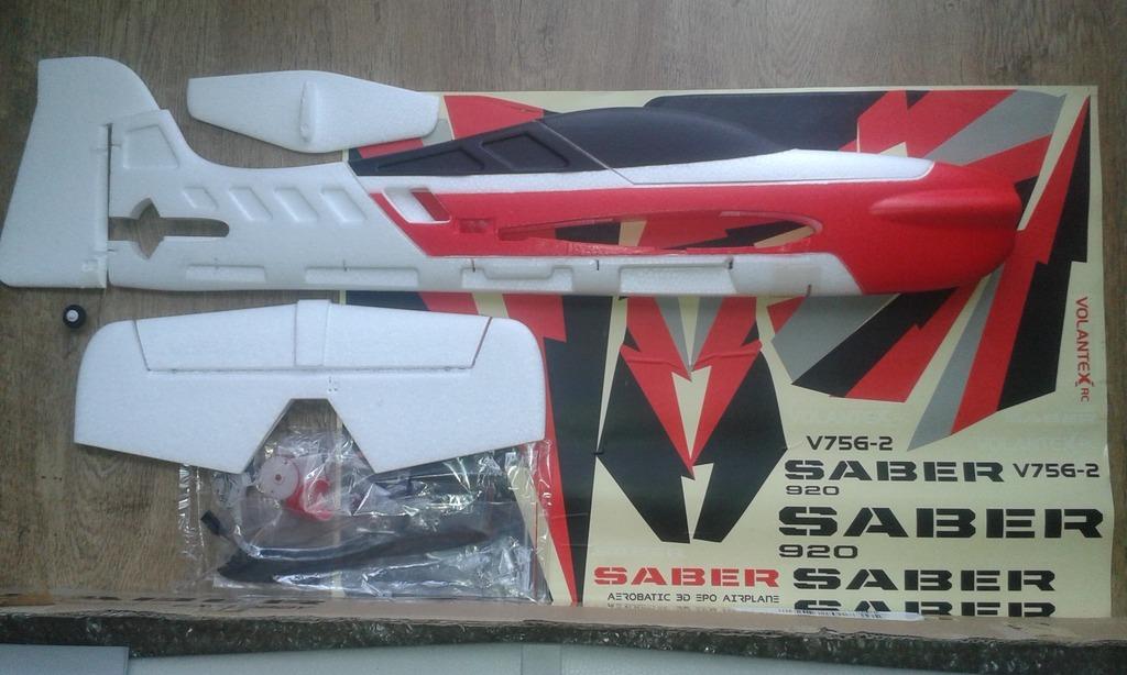 Volantex Sabre 756-2 EP дистанционно управляемая 3D модель