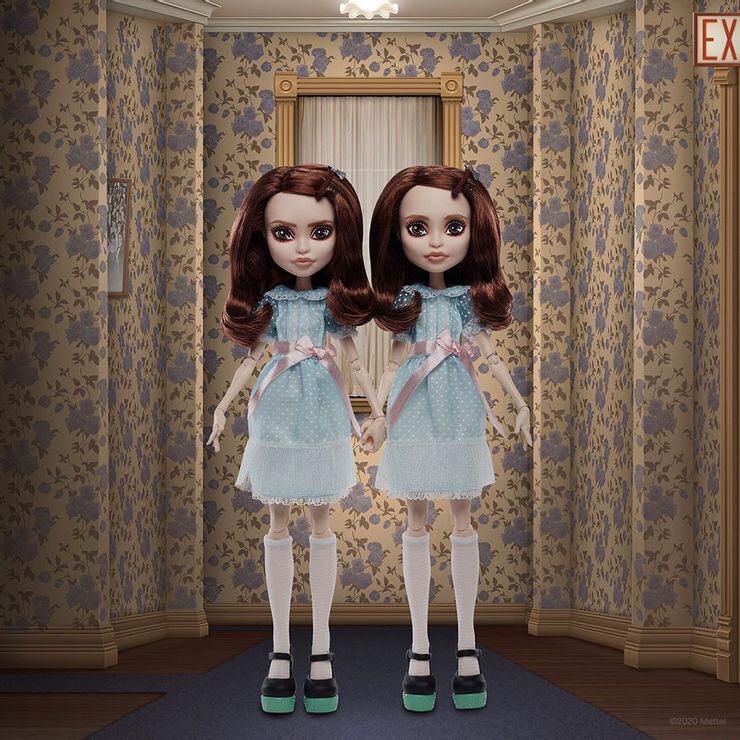 The Shining Grady Twins Monster High Mattel Dolls