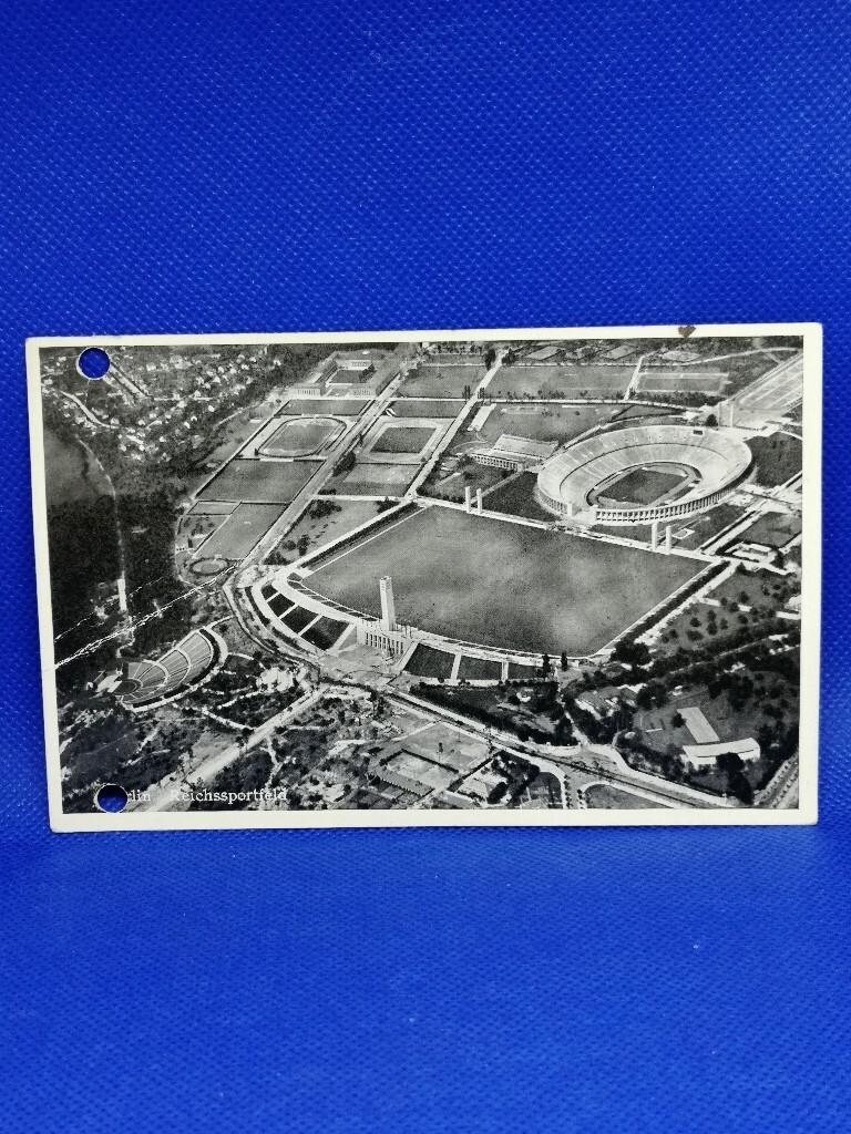 Олимпийский стадион в Берлине, 1938 год.