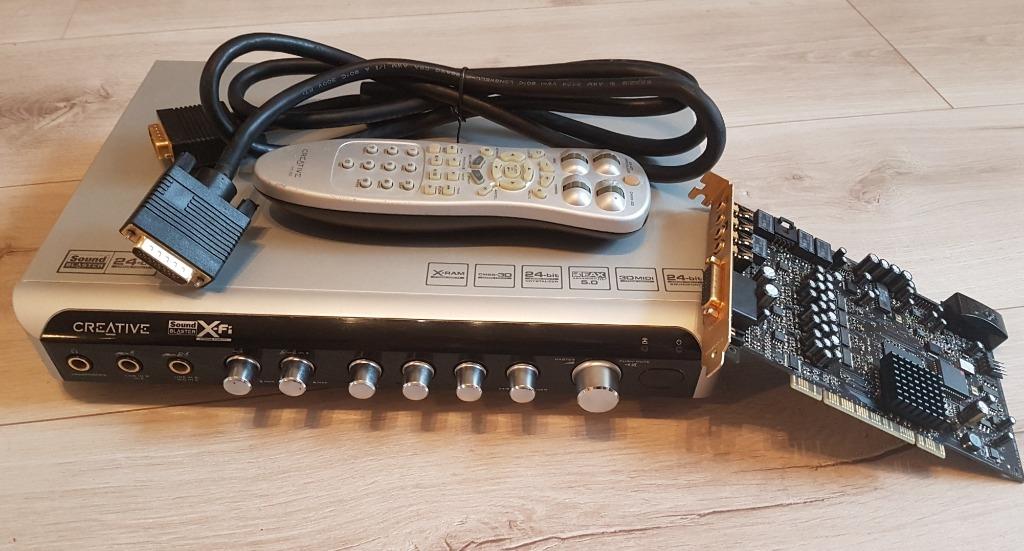 Купить Звуковая карта Creative Sound Blaster X-Fi Elite на Otpravka - цены и фото - доставка из Польши и стран Европы в Украину.