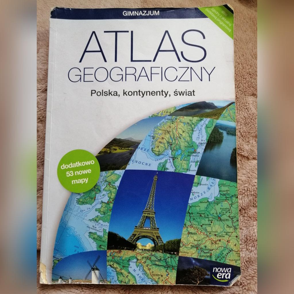 Atlas Geograficzny Cena 15 00 Zl Warszawa Allegro Lokalnie