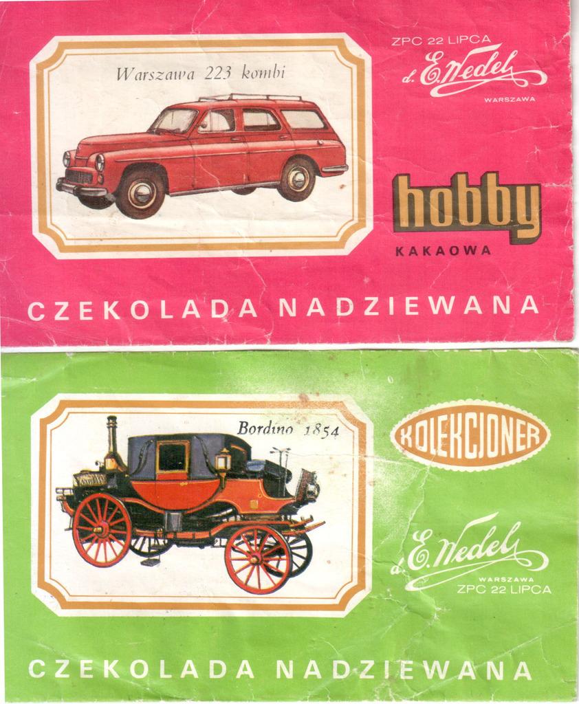 Warszawa 223 kombi + Bordino 1854