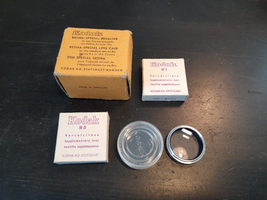 dodatkowe soczewki do Kodak Retina N I/32 N II/32