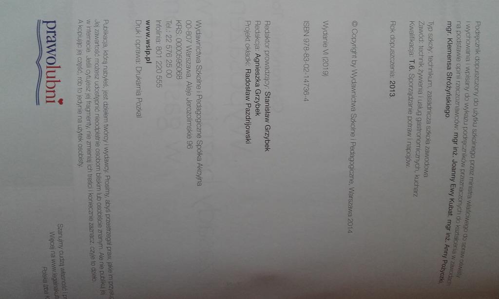 Wyposazenie I Zasady Bezpieczenstwa W Gastronomii Kup Teraz Za 25 00 Zl Bydgoszcz Allegro Lokalnie