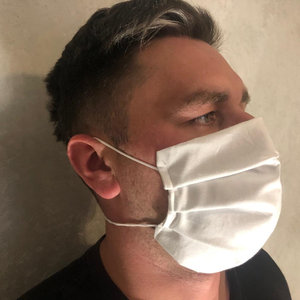 Двойные хлопковые защитные маски для универсального наполнения