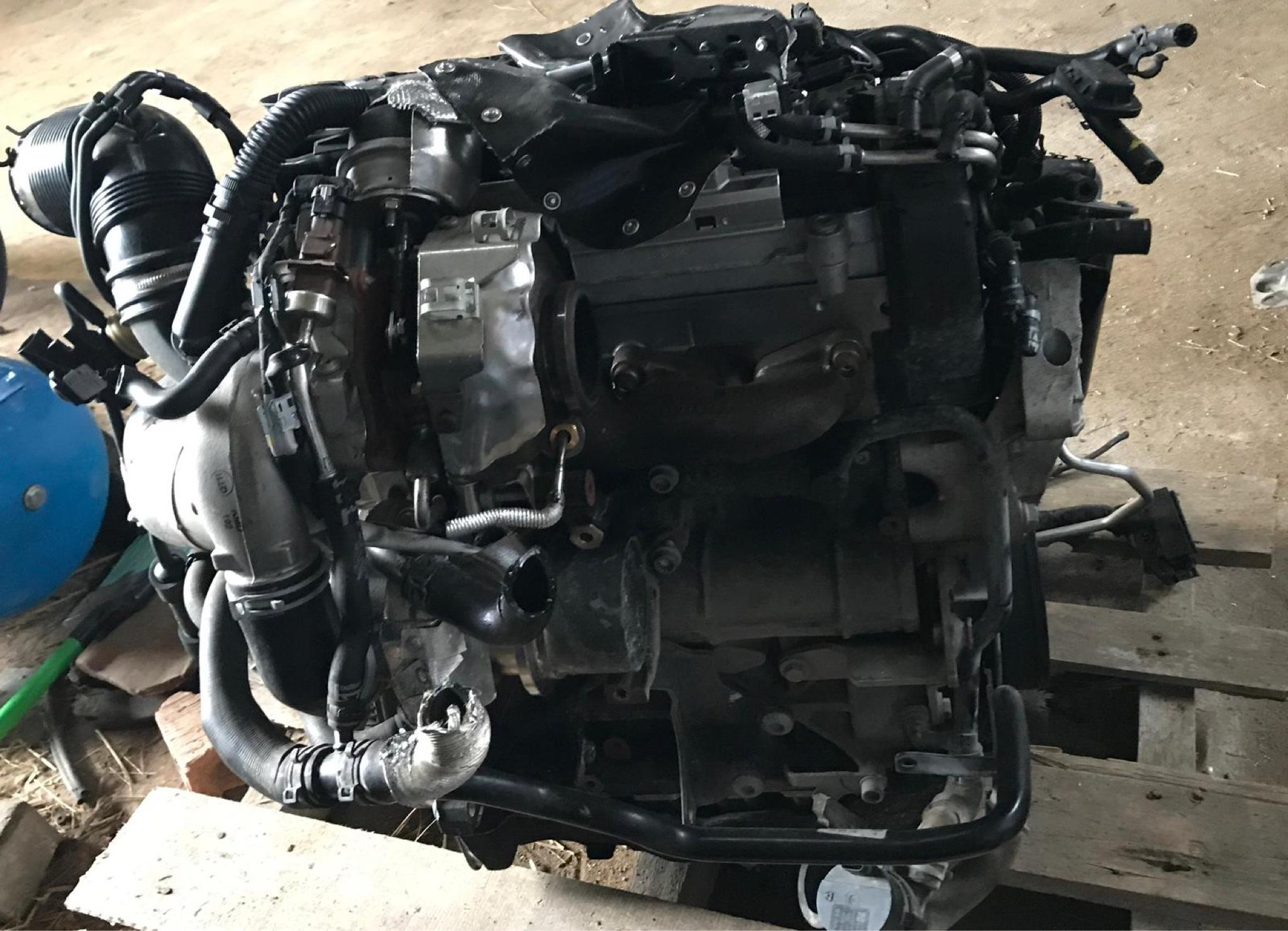 Двигатель комплектный dfh 2, 0 tdi volkswagen skoda seat, фото 2
