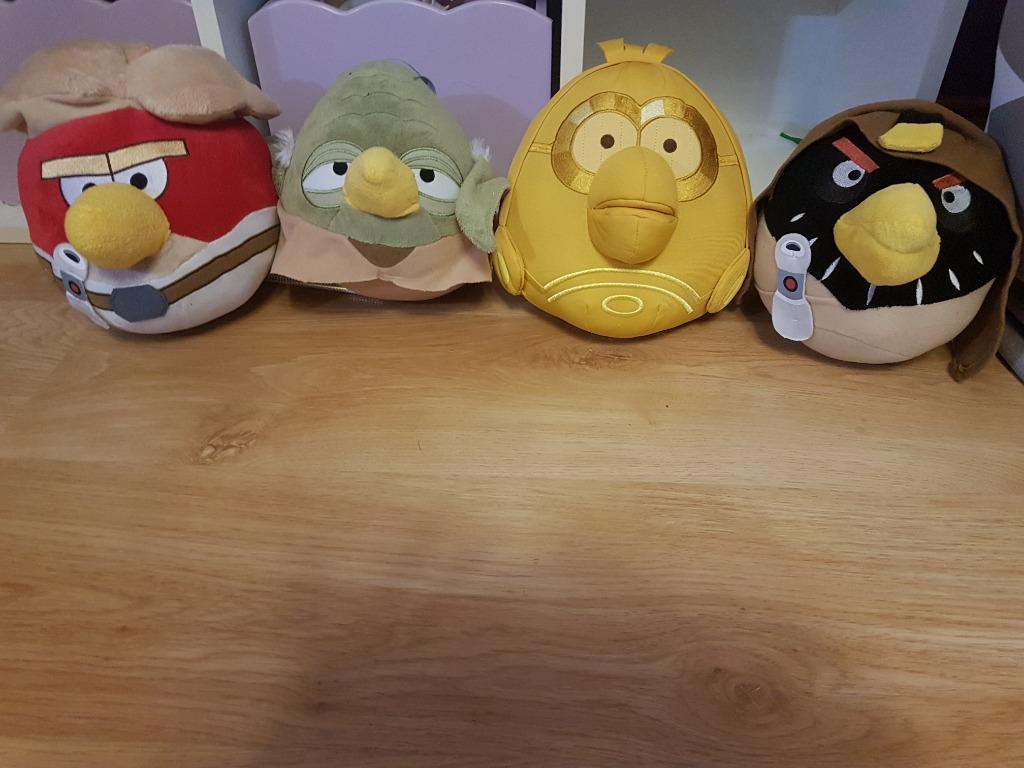 Angry Birds Star Wars Pluszaki Dla Fana Na Mikolaj Kup Teraz Za 30 00 Zl Milowka Allegro Lokalnie