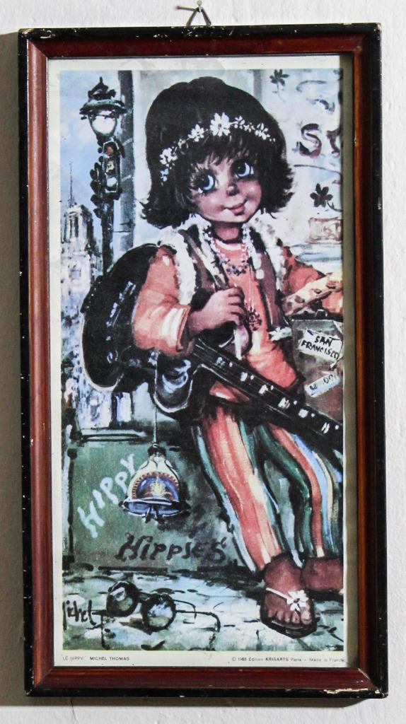 Michel Thomas Le Hippy 1968 KrisArts Paris plakat
