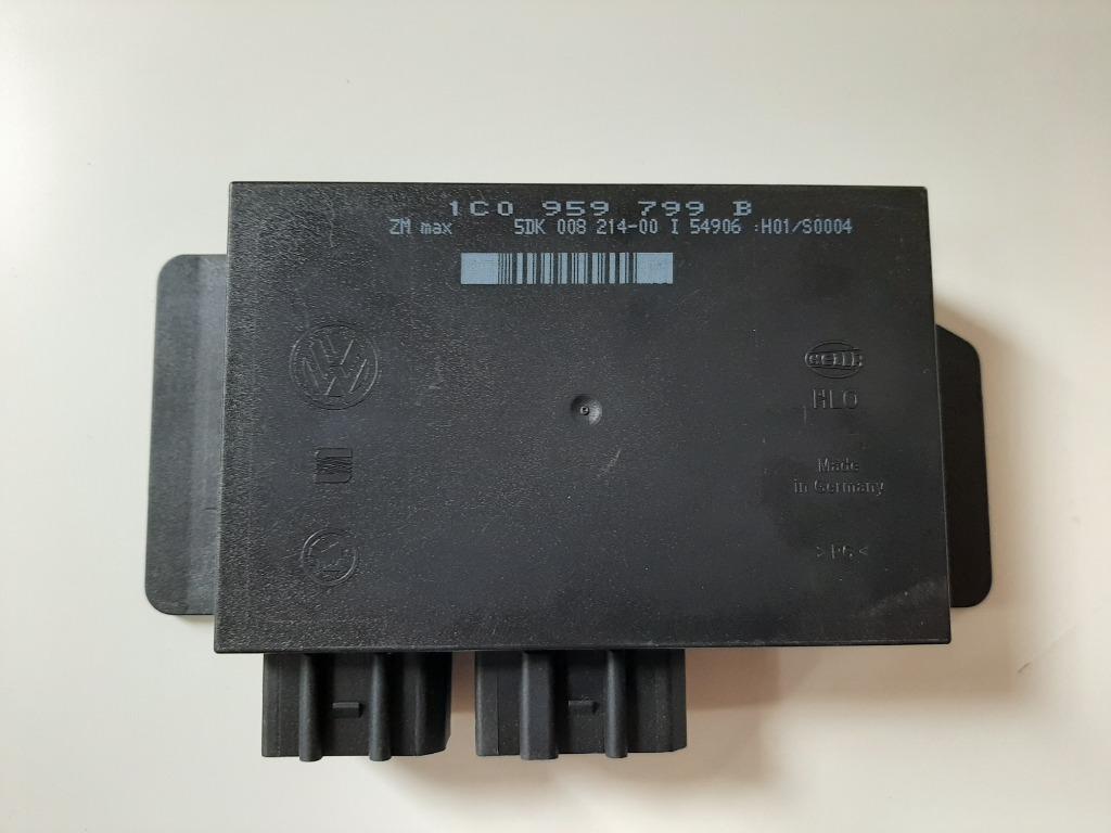 модуль комфорта vag 1c0 959 799 b vw  skoda