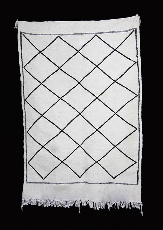 Marokański kilim, dywan, wełna, 100x150 cm