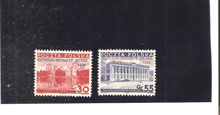 POLSKA Fi 292 - 3 GORDON -BENNETA gw Kalinowski