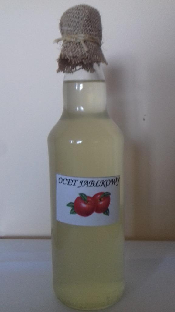 Żywy ocet jabłkowy 500 ml