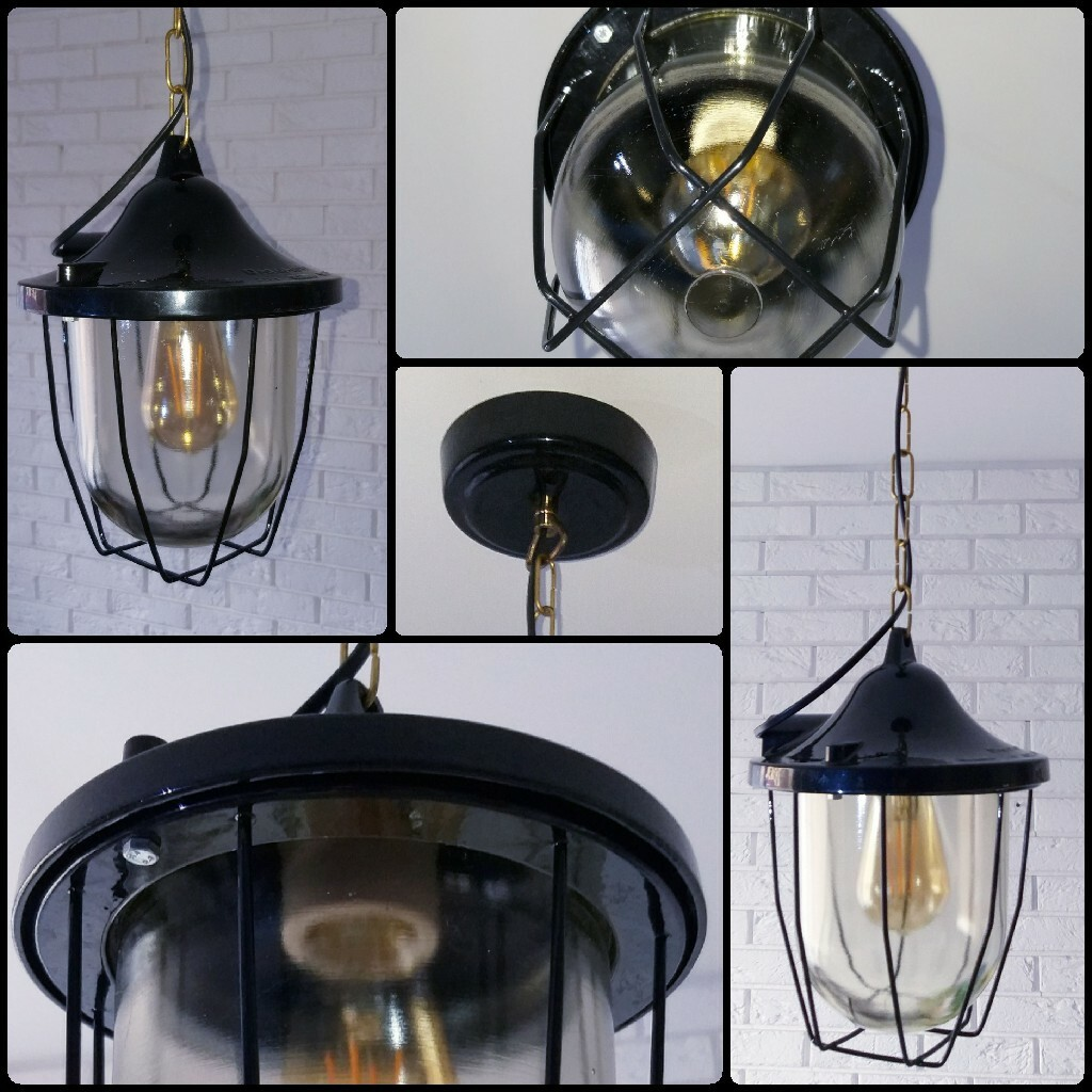 Industrialna lampa Polam C200