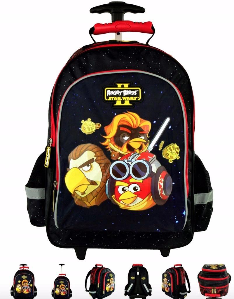 Angry Birds Star Wars Tornister Plecak Na Kolkach Kup Teraz Za 35 00 Zl Jelenia Gora Allegro Lokalnie