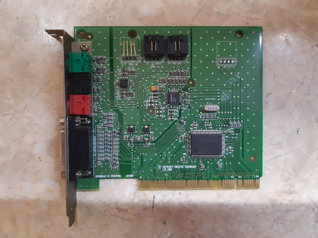 Купить Звуковая карта CREATIVE LABS ES1371 PCI на Otpravka - цены и фото - доставка из Польши и стран Европы в Украину.
