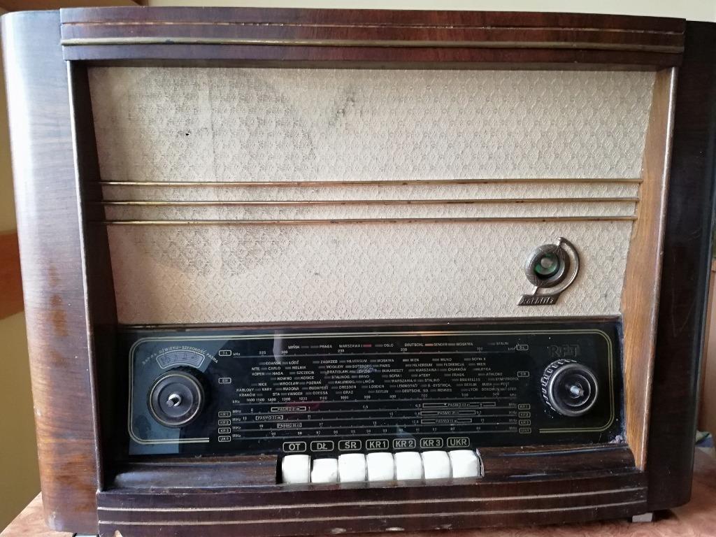Radio Stern 7E86A z lat 50-tych