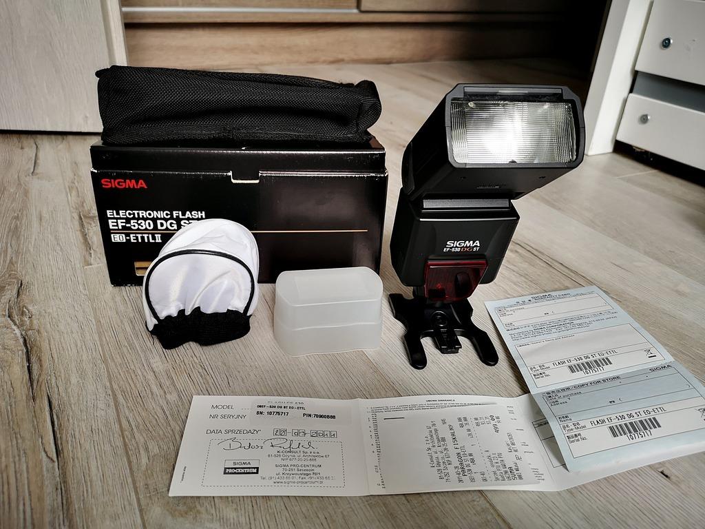 Item Sigma EF-530 DG ST e-ttl II for Canon + 2 diffusers